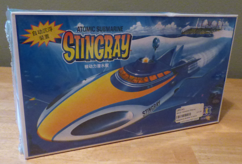 Stingray atomic submarine model toy