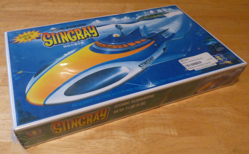 Stingray atomic submarine model toy 3