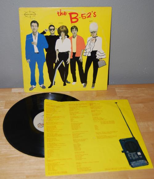 The b52s vinyl lp