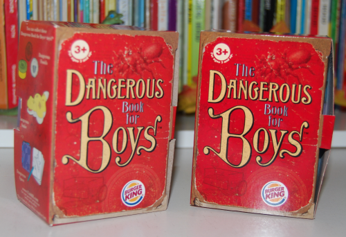 Dangerous book for boys bk prize x