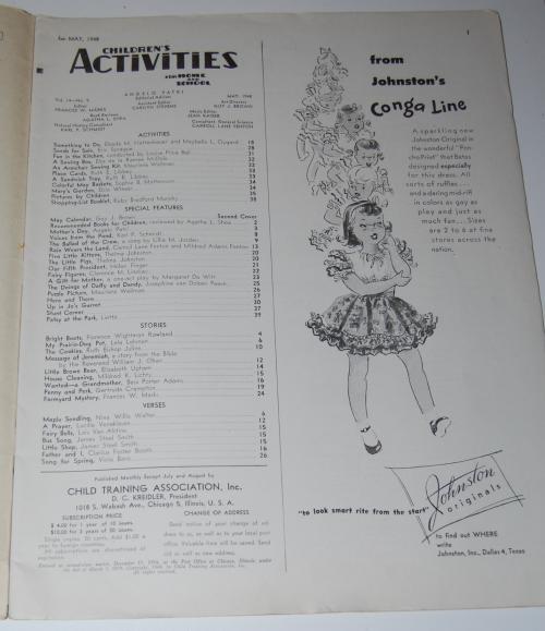 Children's activities magazine may 1948 1