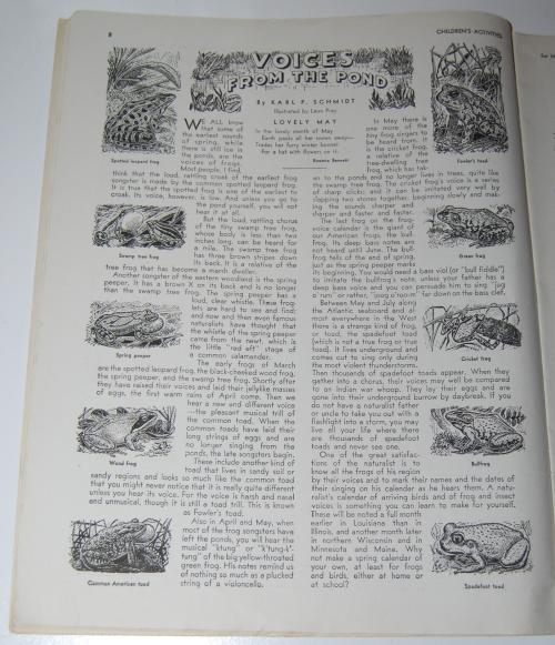 Children's activities magazine may 1948 3