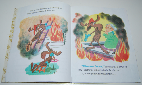 Fearless firemoose little golden book 3