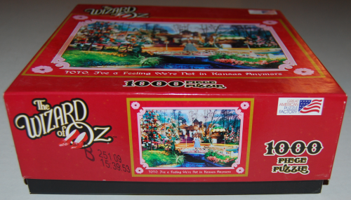 Puzzles wizard of oz 1