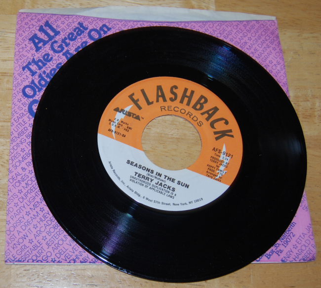 vintage vinyl ~ flashback friday 45s