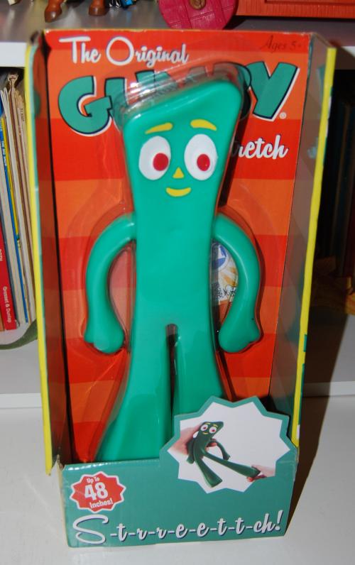Gumby stretch toy