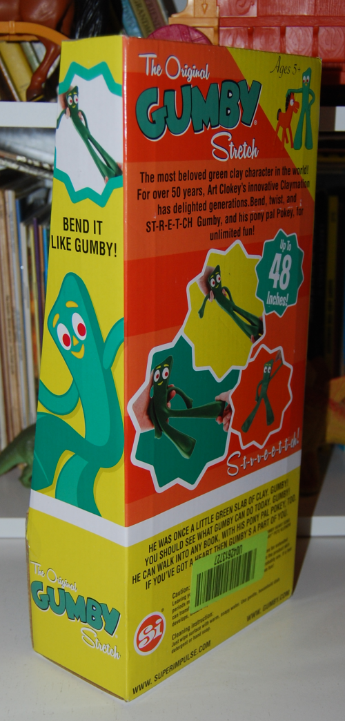 Gumby stretch toy 2