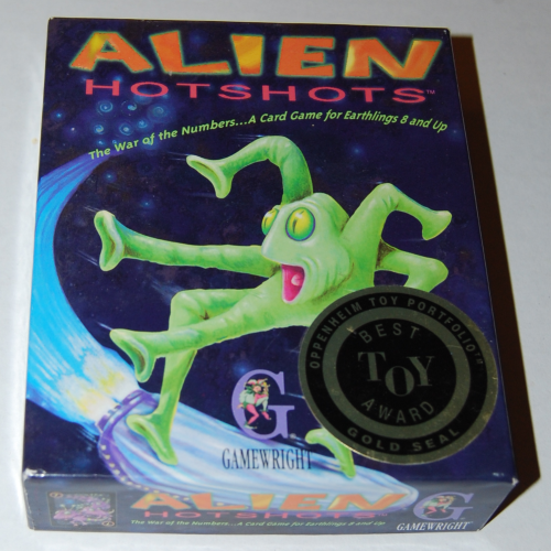 Alien hotshots card game x