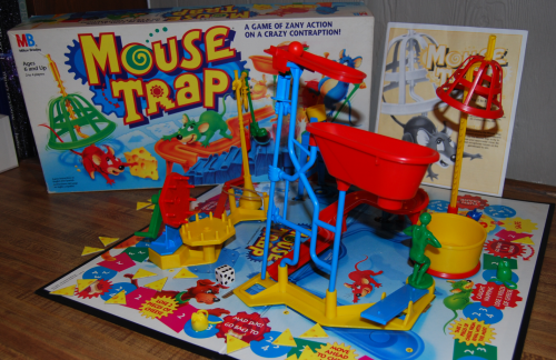 Mousetrap assembled