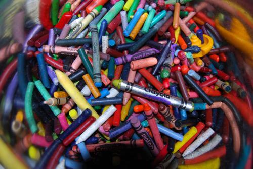 Crayons x