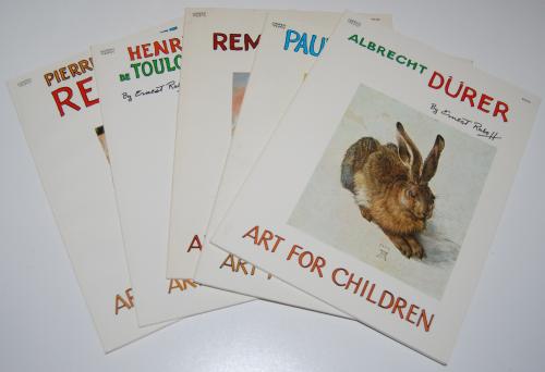 Art for children book series