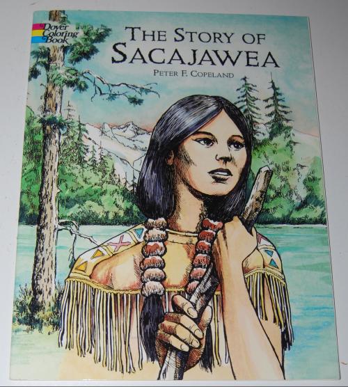 Dover sacajawea coloring book