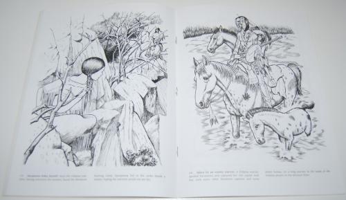 Dover sacajawea coloring book 5