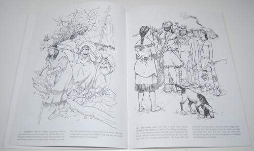 Dover sacajawea coloring book 6