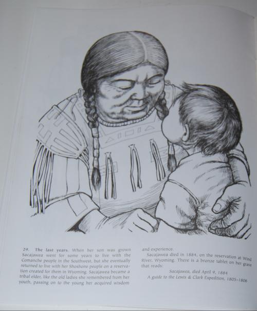 Dover sacajawea coloring book 11
