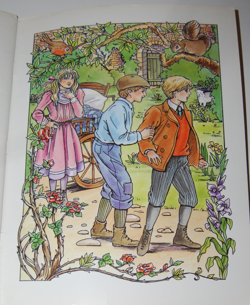 Dover secret garden coloring book 12