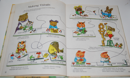 Richard scarry's great big schoolhouse book 7