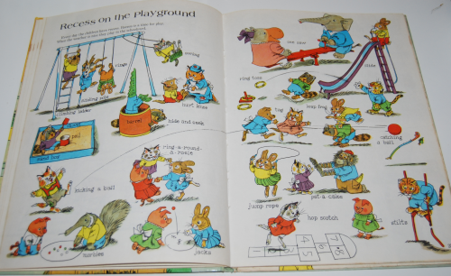 Richard scarry's great big schoolhouse book 8