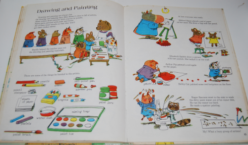 Richard scarry's great big schoolhouse book 9