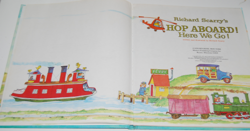 Richard scarry's hop aboard here we go 1