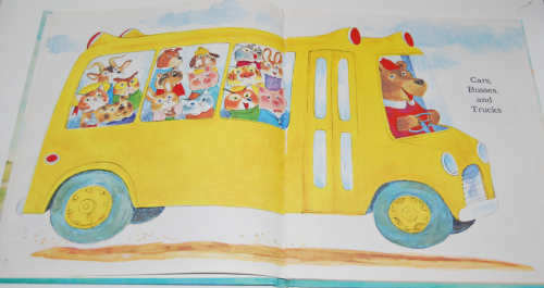 Richard scarry's hop aboard here we go 2
