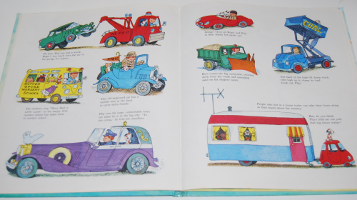 Richard scarry's hop aboard here we go 6