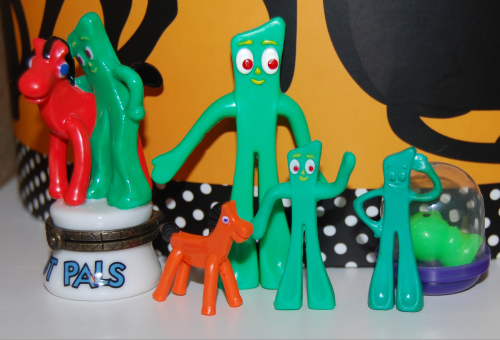 Tiny gumby art clokey 1986 1