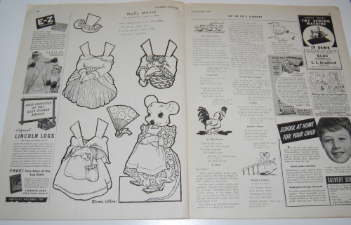 Children's activities magazine october 1947 11