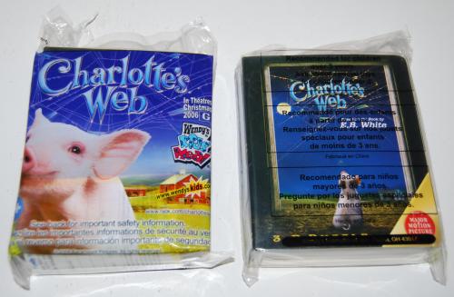 Charlotte's web prizes 1