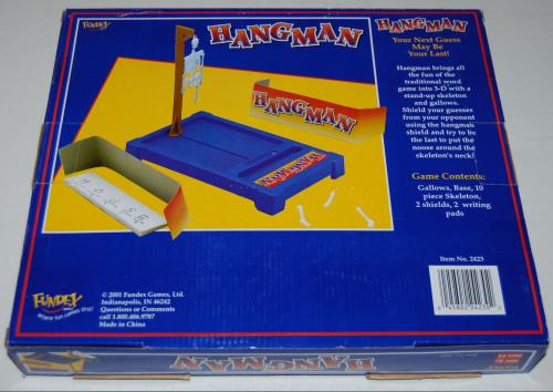 Hangman game x