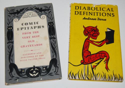 Vintage halloween books