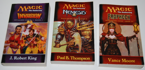 Magic the gathering books