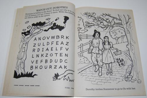 Wizard of oz golden coloring book 5