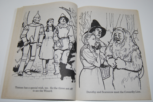 Wizard of oz golden coloring book 6