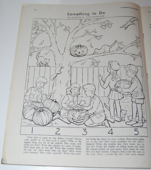 Children's activities magazine october 1948 5