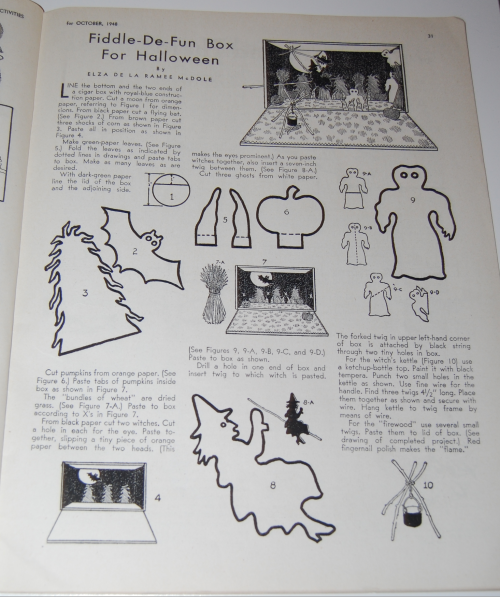 Children's activities magazine october 1948 7