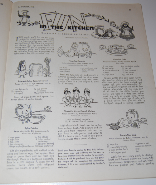 Children's activities magazine october 1948 9