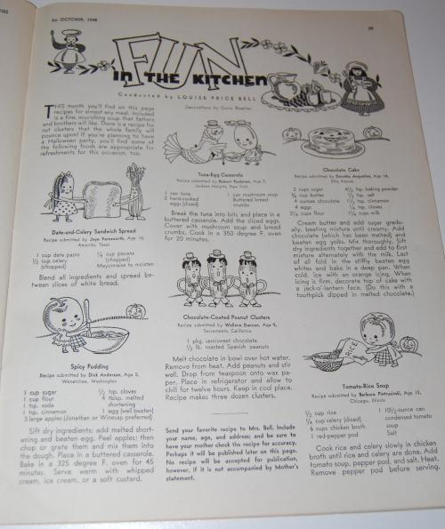 Children's activities magazine october 1948 9