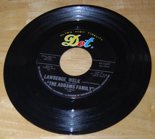 Vintage vinyl 45s