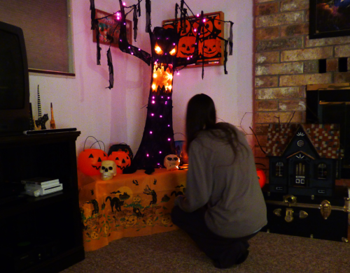 Altar to halloween