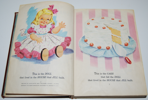 The children's treasury vintage books 3