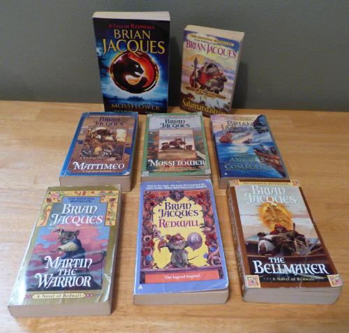 Brian jacques books