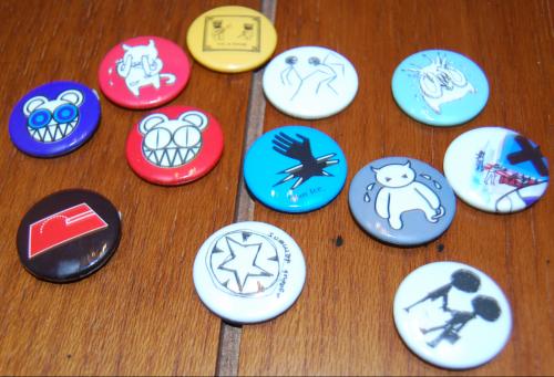 Radiohead pins