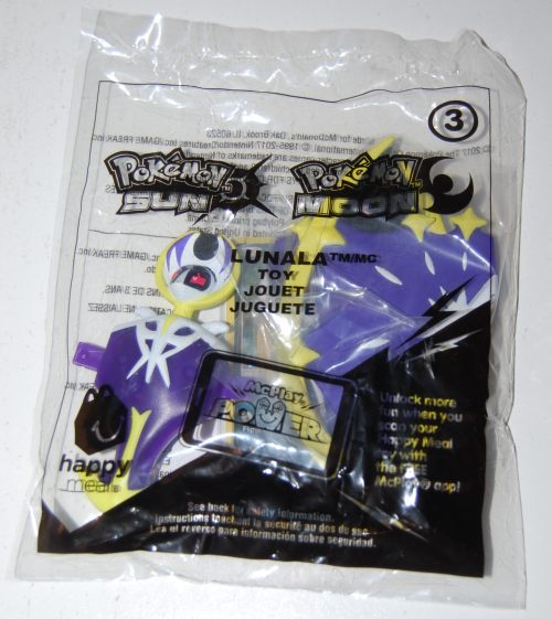 Pokemon sunmoon happy meal 2xx