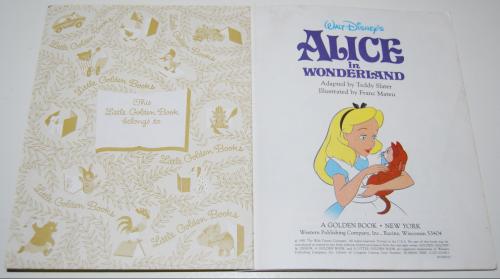 Little golden books disney 6 1991