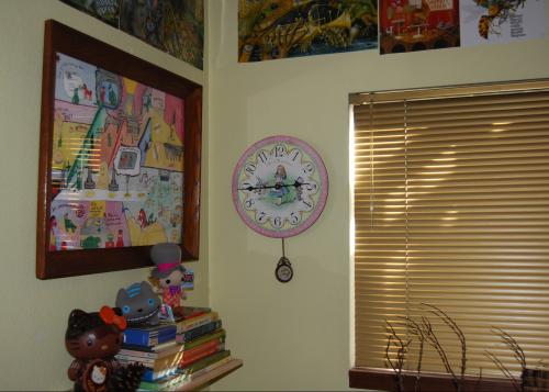 Alice clock 6
