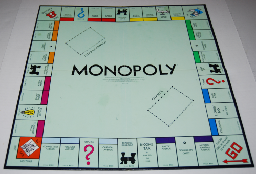 Monopoly commemorative edition board game 2