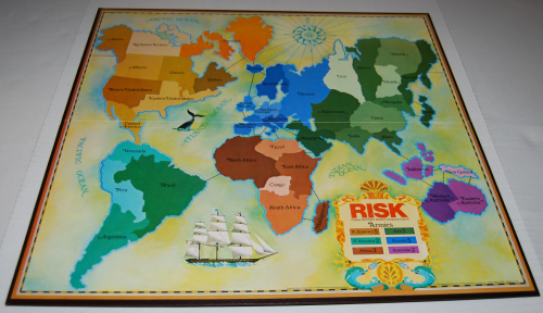 Risk board game 1