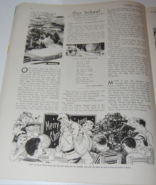 Children's activities magazine december 1948 9