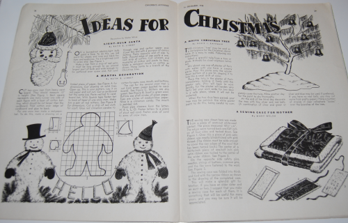 Children's activities magazine december 1948 12